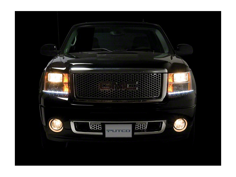 Putco LED Dayliner G3 Kit - Black (07-13 Sierra 1500)