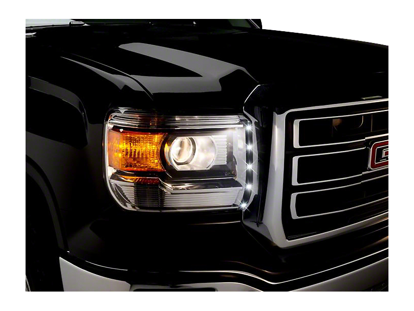 Putco LED Dayliner G2 Kit - Black (14-18 Sierra 1500)