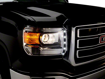 Putco LED Dayliner G2 Kit - Black (14-18 Sierra 1500)
