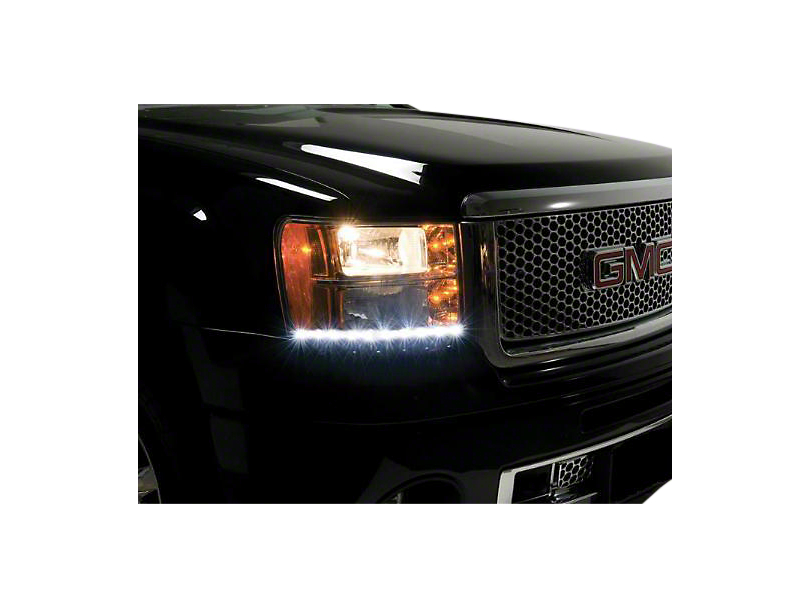 Putco SwitchBack LED DayLiners - Polished (07-13 Sierra 1500)