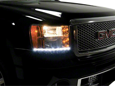 Putco SwitchBack LED DayLiners - Black (07-13 Sierra 1500)