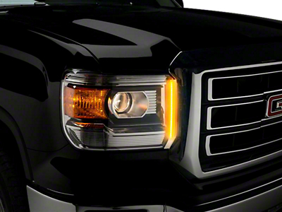 Putco SwitchBack LED DayLiners - Polished (14-18 Sierra 1500)