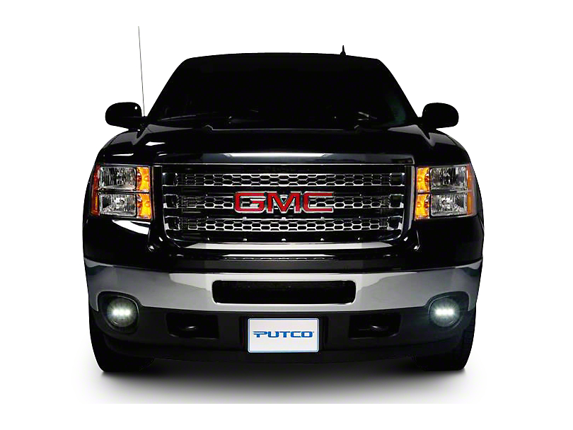 Putco Luminix LED Fog Lights - Pair (07-13 Sierra 1500)