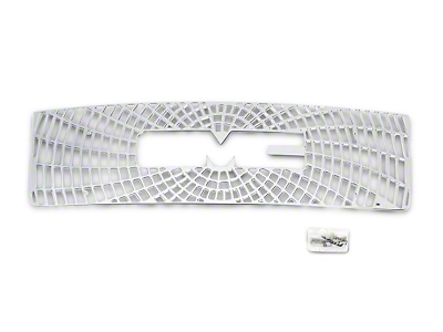 Liquid Spider Web Upper Overlay Grille - Polished (07-13 Sierra 1500)