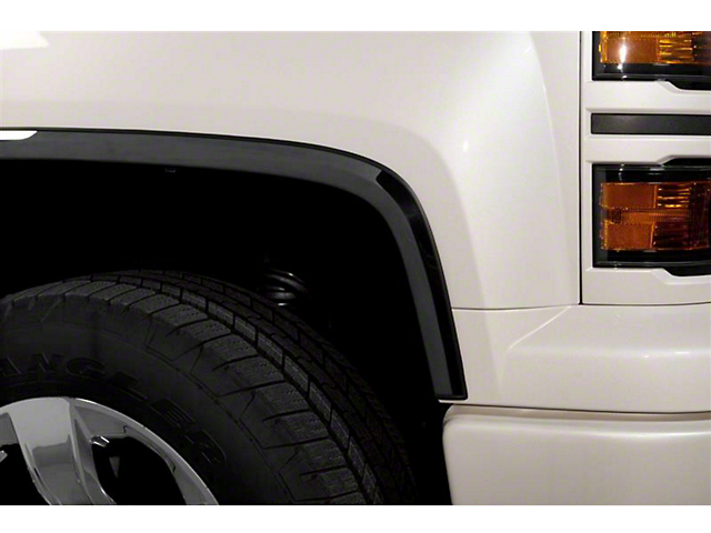 Putco Black Platinum Fender Trim (07-13 Sierra 1500, Excluding Denali)