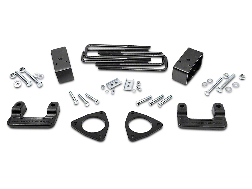 Rough Country 2.50-Inch MagneRide Leveling Lift Kit (14-18 2WD/4WD Sierra 1500 Denali w/ Stock Cast Aluminum Control Arms)