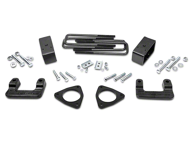 Rough Country 2.5 in. MagneRide Leveling Lift Kit (14-18 2WD/4WD Sierra 1500 Denali w/ Stock Cast Aluminum Control Arms)