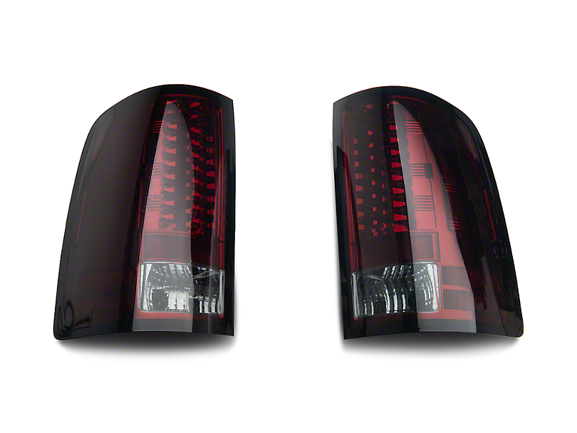 Axial Smoked Red LED Tail lights (07-13 Sierra 1500)