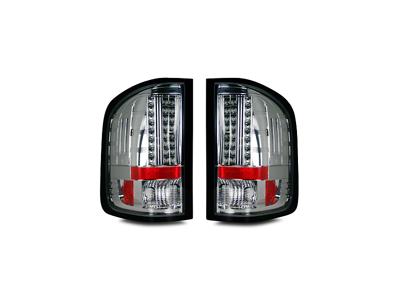 LED Tail Lights - Clear Lens (07-13 Sierra 1500)