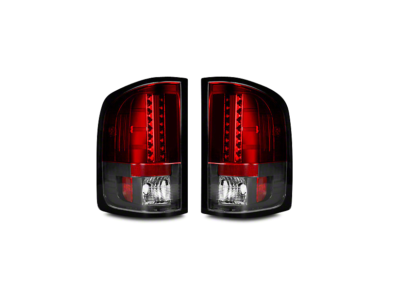 LED Tail Lights - Red Lens (07-13 Sierra 1500)