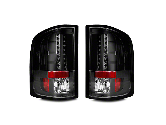 Recon LED Tail Lights - Smoked Lens (07-13 Sierra 1500)