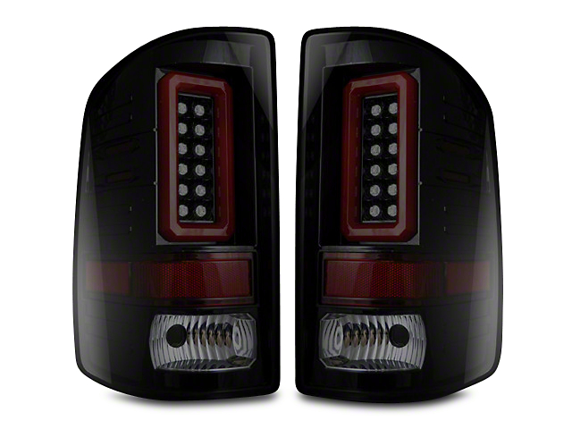 Recon LED Tail Lights - Smoked Lens (14-18 Sierra 1500 w/o Factory LED Tail Lights)