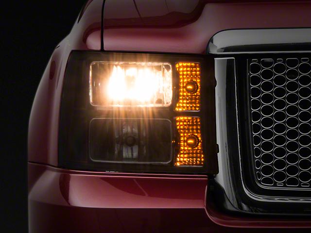 Axial Black Euro Headlights (07-13 Sierra 1500)
