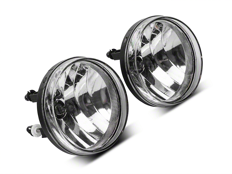 Axial Clear OE Style Fog Lights w/ Wiring Harness - Pair (07-13 Sierra 1500)