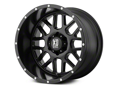 XD Grenade Satin Black 6-Lug Wheel - 18x9 (07-18 Sierra 1500)