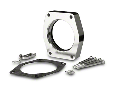 Spectre Throttle Body Injection Spacer (07-13 4.8L, 5.3L, 6.0L; 09-13 6.2L Sierra 1500)