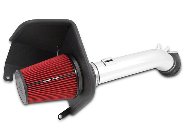 Spectre Performance Cold Air Intake - Polished (14-15 5.3L Sierra 1500)
