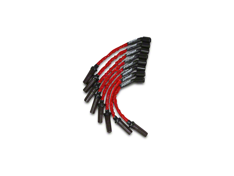 GMS High Performance Ignition Wires - High Temp Red (07-13 4.8L, 5.3L, 6.0L Sierra 1500)