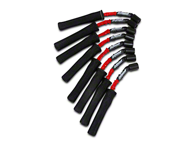 GMS High Performance Ignition Wires - High Temp Red & Black (07-13 4.8L, 5.3L, 6.0L Sierra 1500)