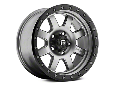 Fuel Wheels Trophy Anthracite w/ Black Ring 6-Lug Wheel - 17x8.5 (07-18 Sierra 1500)
