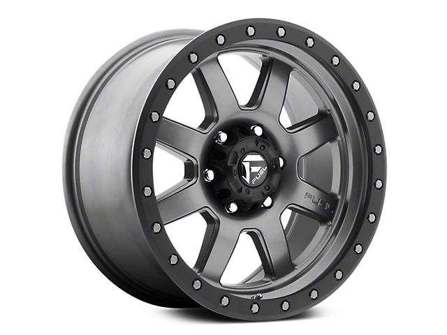 Fuel Wheels Trophy Anthracite w/ Black Ring 6-Lug Wheel - 18x9 (07-18 Sierra 1500)