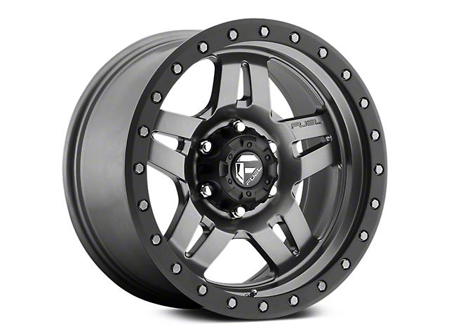 Fuel Wheels Anza Anthracite w/ Black Ring 6-Lug Wheel - 17x8.5 (07-19 Sierra 1500)