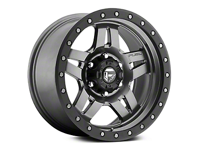 Fuel Wheels Anza Anthracite w/ Black Ring 6-Lug Wheel - 17x8.5 (07-18 Sierra 1500)