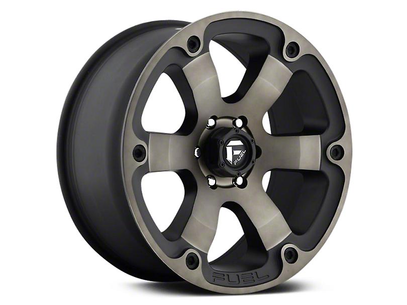 Fuel Wheels Beast Black Machined w/ Dark Tint 6-Lug Wheel - 20x9 (07-18 Sierra 1500)