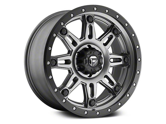 Fuel Wheels Hostage III Anthracite w/ Black Ring 6-Lug Wheel - 17x9 (07-18 Sierra 1500)