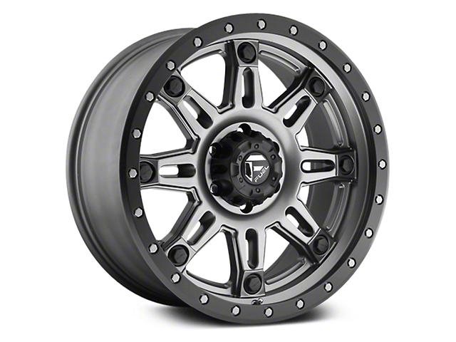Fuel Wheels Hostage III Anthracite w/ Black Ring 6-Lug Wheel - 20x9 (07-18 Sierra 1500)