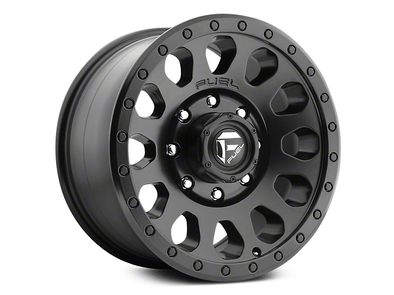 Fuel Wheels Vector Matte Black 6-Lug Wheel - 18x9 (07-19 Sierra 1500)