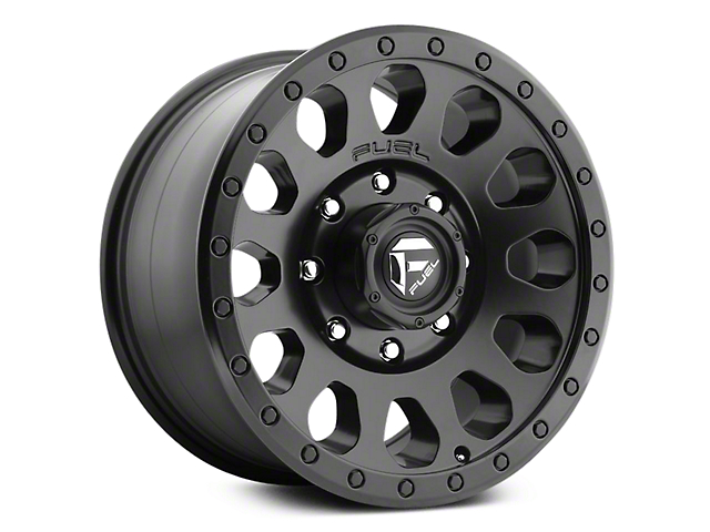 Fuel Wheels Vector Matte Black 6-Lug Wheel - 18x9 (07-18 Sierra 1500)