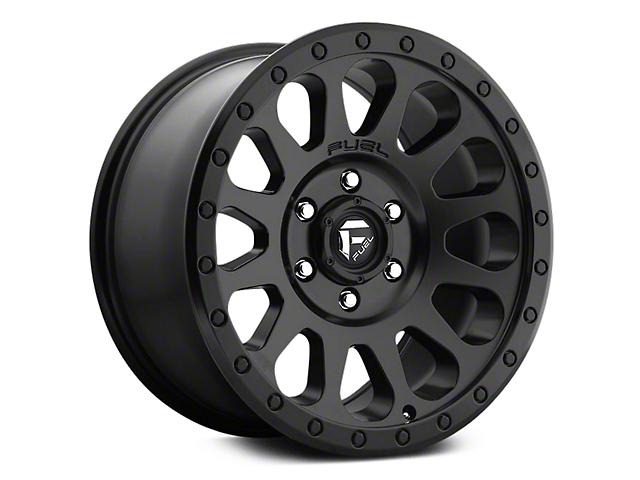 Fuel Wheels Vector Matte Black 6-Lug Wheel - 20x9 (07-18 Sierra 1500)