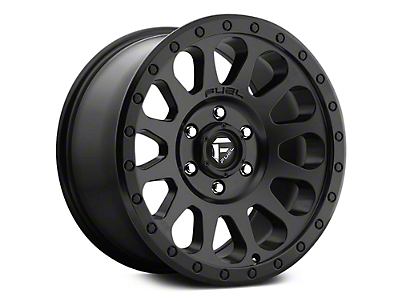 Fuel Wheels Vector Matte Black 6-Lug Wheel - 20x9 (07-18 Sierra 1500)