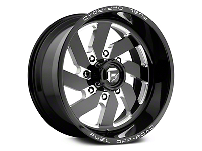 Fuel Wheels Turbo Black Milled 6-Lug Wheel - 17x9 (07-18 Sierra 1500)