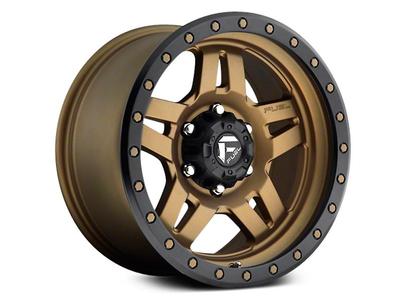 Fuel Wheels Anza Matte Bronze w/ Black Ring 6-Lug Wheel - 20x9 (07-18 Sierra 1500)