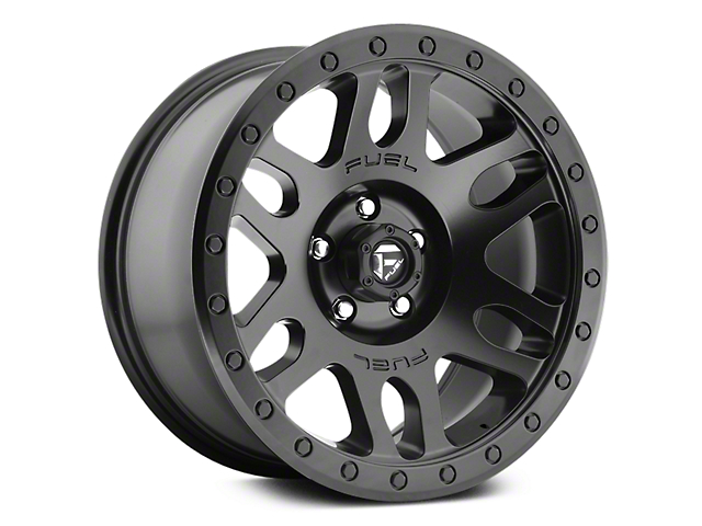 Fuel Wheels Recoil Matte Black 6-Lug Wheel - 17x8.5 (07-18 Sierra 1500)