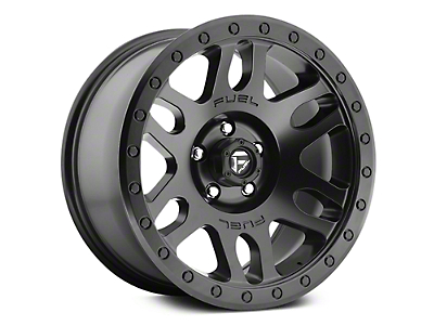 Fuel Wheels Recoil Matte Black 6-Lug Wheel - 18x9 (07-18 Sierra 1500)