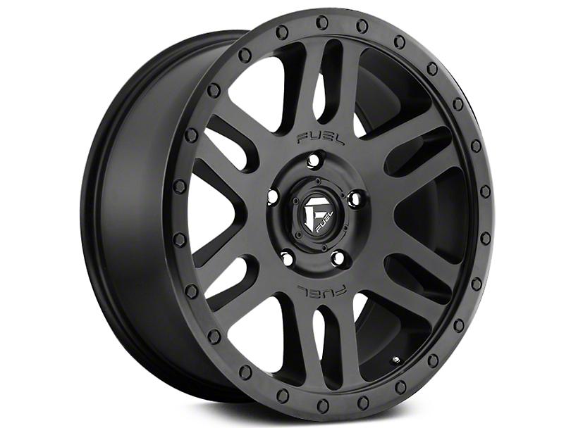 Fuel Wheels Recoil Matte Black 6-Lug Wheel - 20x9 (07-18 Sierra 1500)