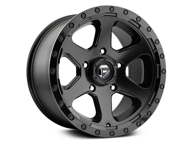 Fuel Wheels Ripper Matte Black 6-Lug Wheel - 17x9 (07-18 Sierra 1500)