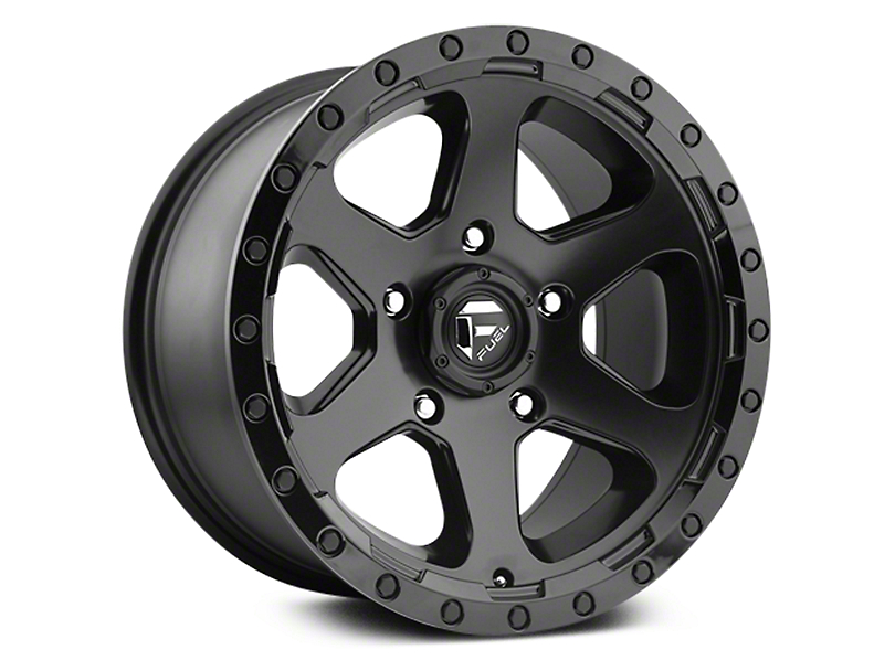 Fuel Wheels Ripper Matte Black 6-Lug Wheel - 20x9 (07-19 Sierra 1500)