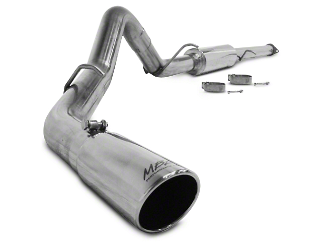 MBRP 3 in. XP Series Single Exhaust System - Side Exit (07-10 6.2L Sierra 1500 Denali)