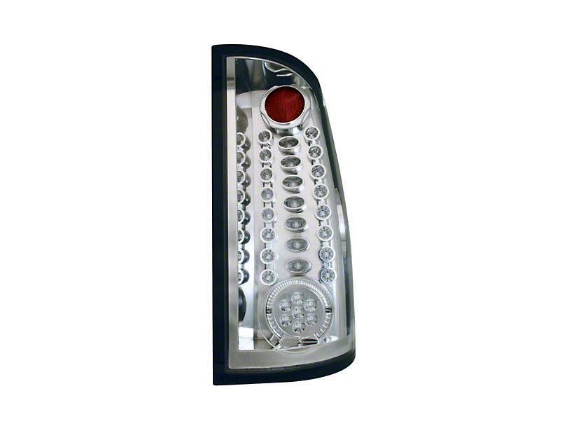 Axial Crystal Clear Fiber Optic LED Tail Lights (07-13 Sierra 1500, Excluding Denali)