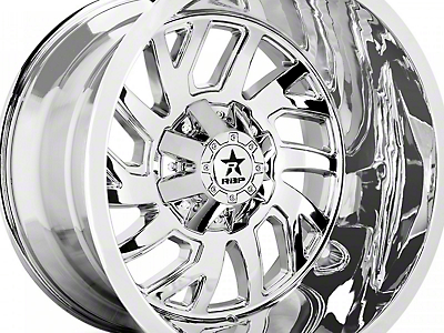 RBP 65R Glock Chrome 6-Lug Wheel - 22x14 (07-18 Sierra 1500)