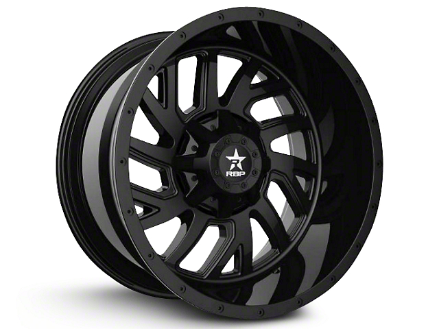 RBP 65R Glock Full Black 6-Lug Wheel - 22x14 (07-18 Sierra 1500)