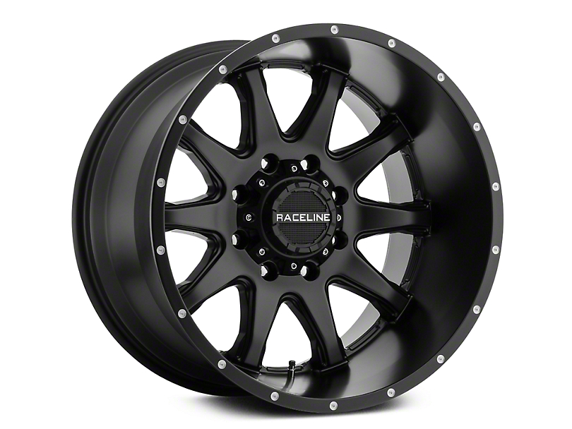 Raceline Shift Black 6-Lug Wheel - 20x9 (07-19 Sierra 1500)