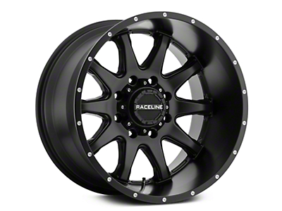 Raceline Shift Black 6-Lug Wheel - 20x9 (07-18 Sierra 1500)