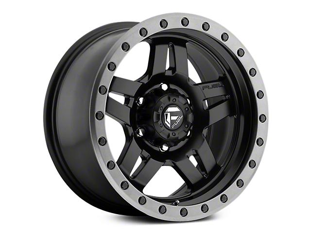 Fuel Wheels Anza Matte Black w/ Anthracite Ring 6-Lug Wheel - 17x8.5 (07-18 Sierra 1500)