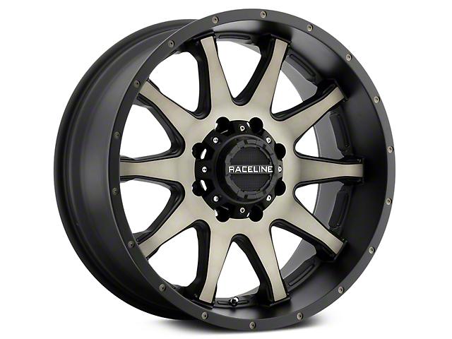 Raceline Shift Black Machined w/ Dark Tint 6-Lug Wheel - 20x9 (07-18 Sierra 1500)