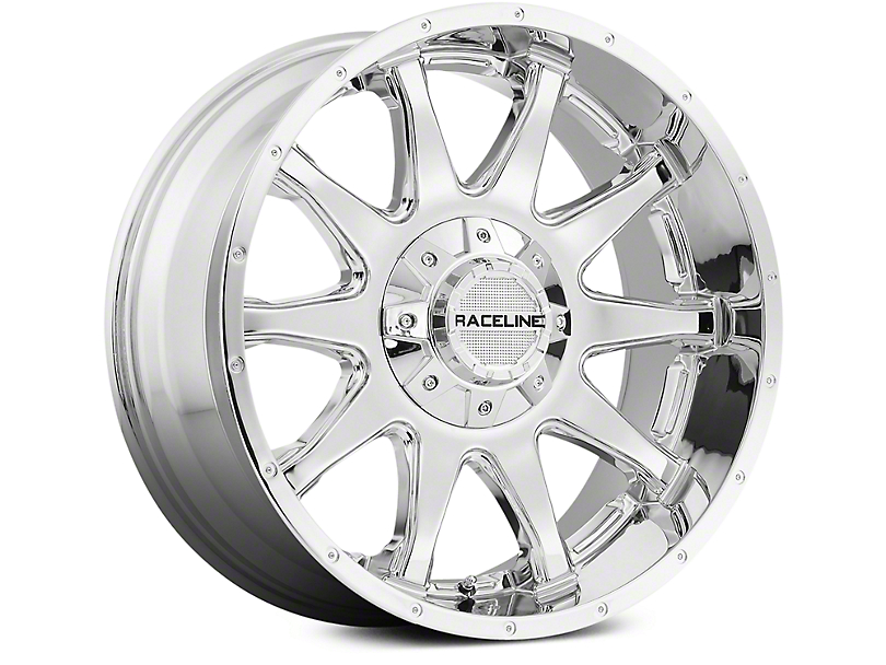 Raceline Shift Chrome 6-Lug Wheel - 18x9 (07-18 Sierra 1500)